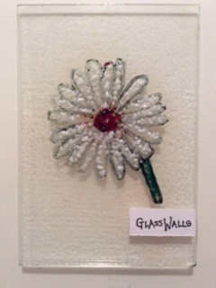 Stained Glass daisy made @The Daisy Project