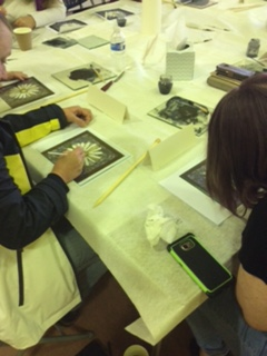 Group art classes offer a safe and sociable environment
